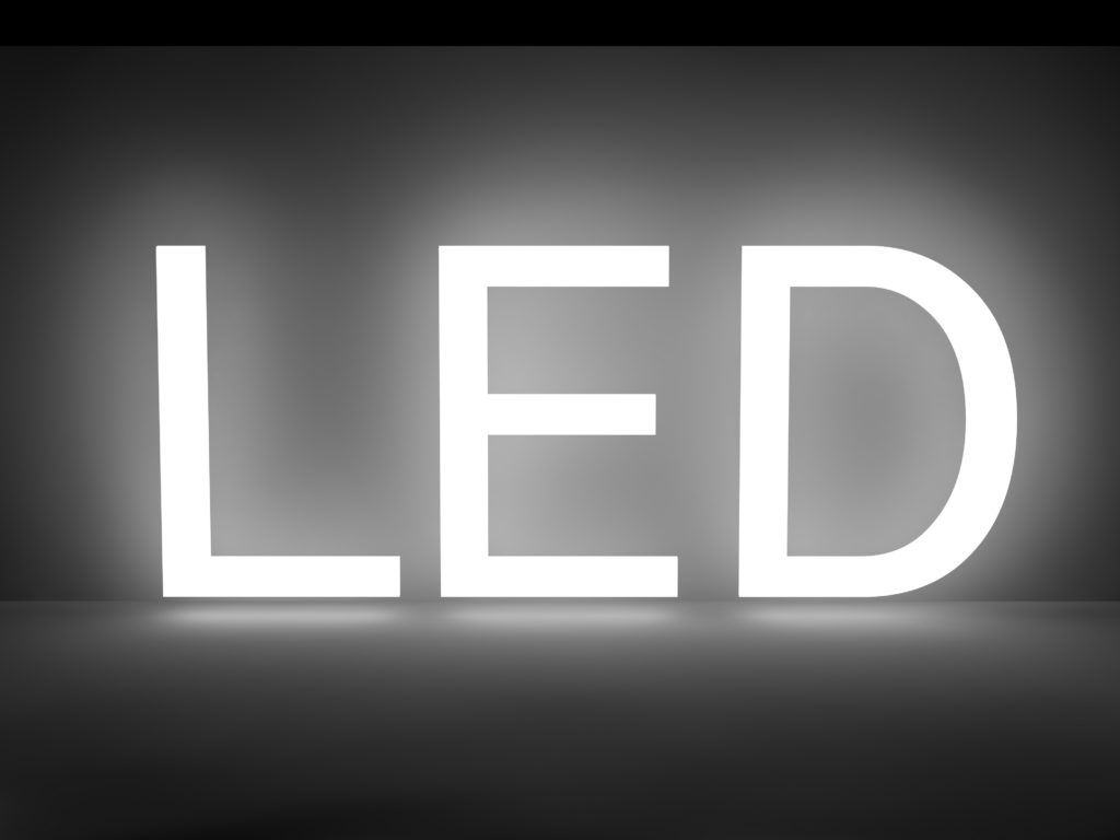 LED蛍光灯の明るさ