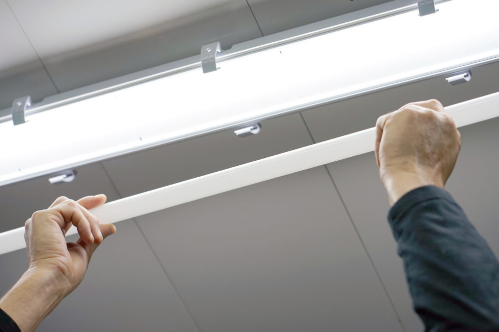 LED蛍光灯に交換